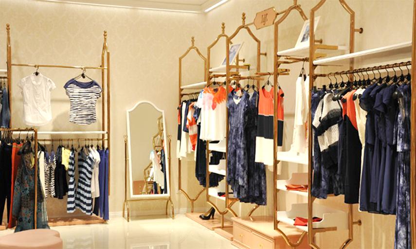 idf空间展示,品牌服装店铺服装道具设计制作,陈列展示