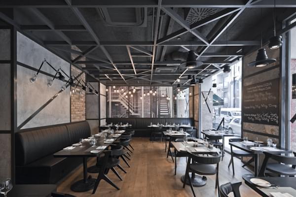 餐饮空间—布达佩斯优美的美式餐厅