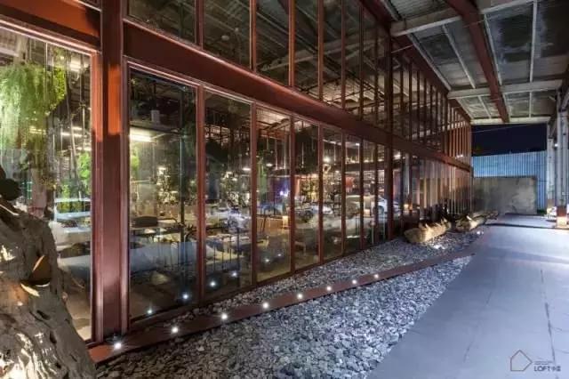厂房改造工业餐厅案例