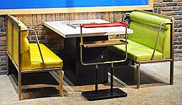 火锅店全套桌椅菜架排烟系统