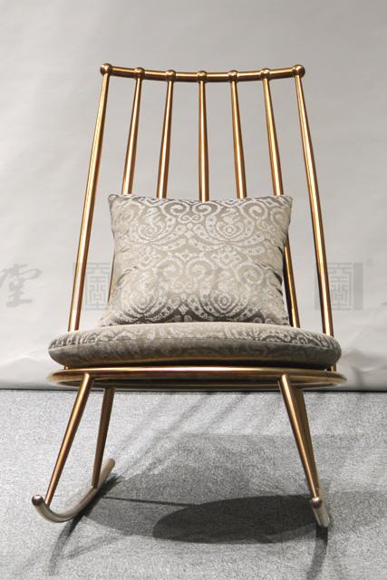 高档不锈钢摇椅