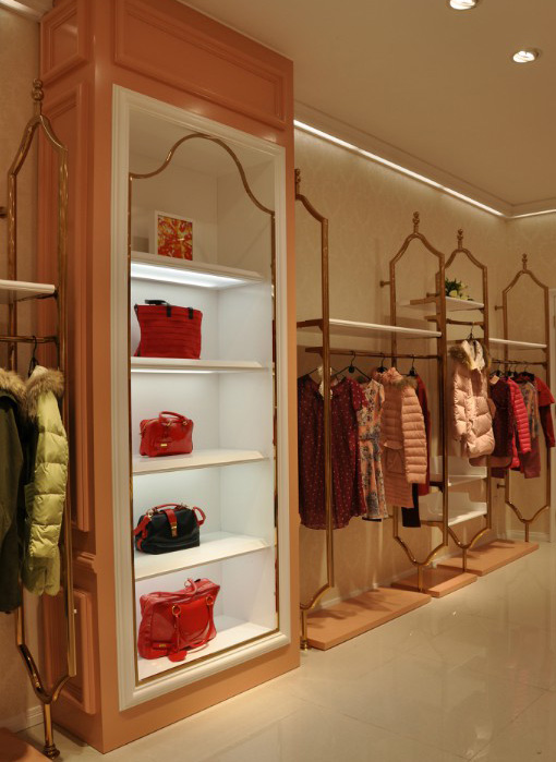 木质服装展示柜