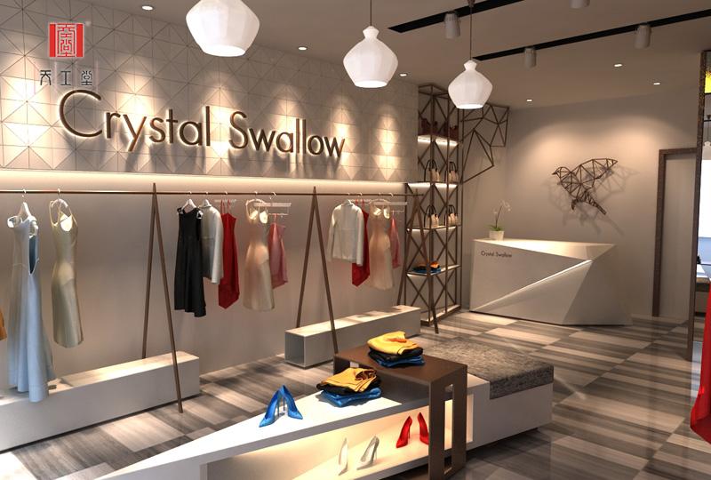 crystal swallow专卖店  展示道具