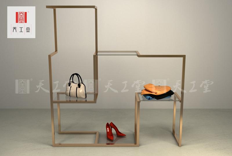 个性服装展示架