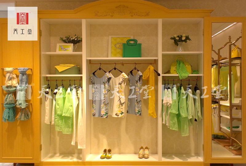 欧美风格服装展示柜