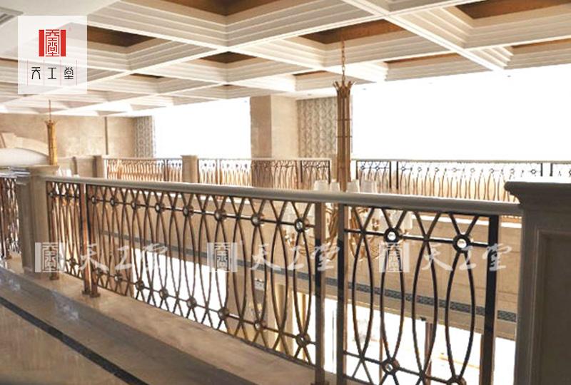 酒店别墅不锈钢楼梯护栏