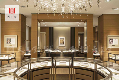 卡地亚珠宝展示柜