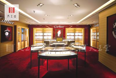 卡地亚珠宝柜台