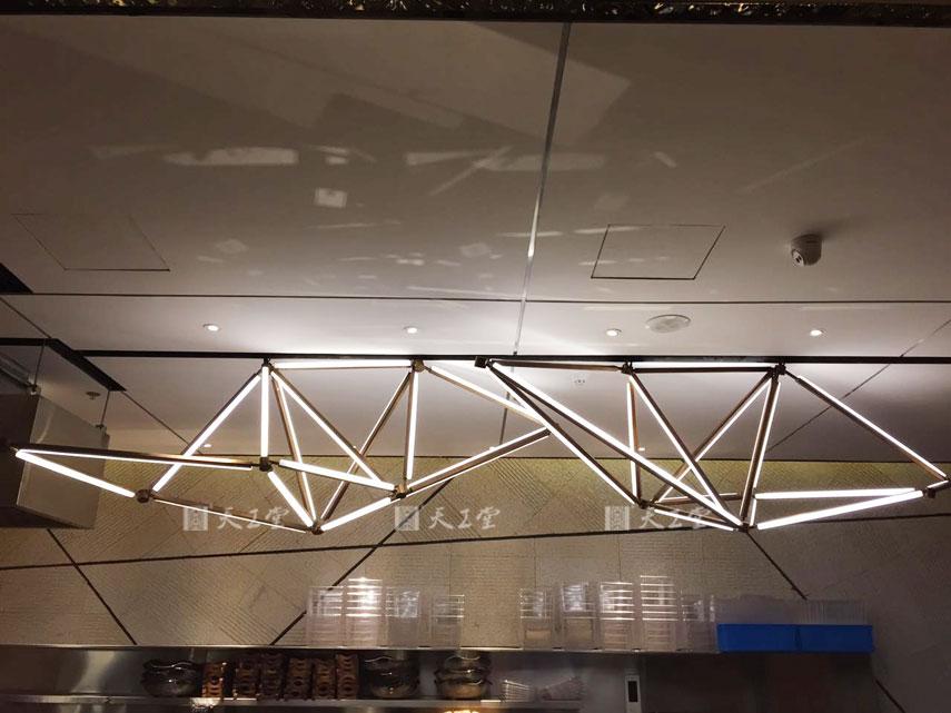 扬州虹料理 创意吊灯